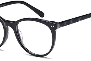 Brooklyn D121 Ladies Round Acetate Frame
