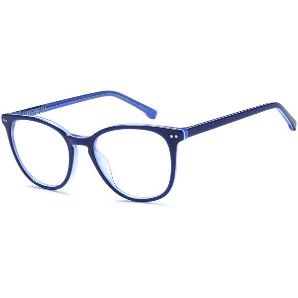 Brooklyn D170 Retro Unisex Round Acetate Frame
